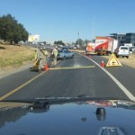 User-submitted image of JMPD roadblock
