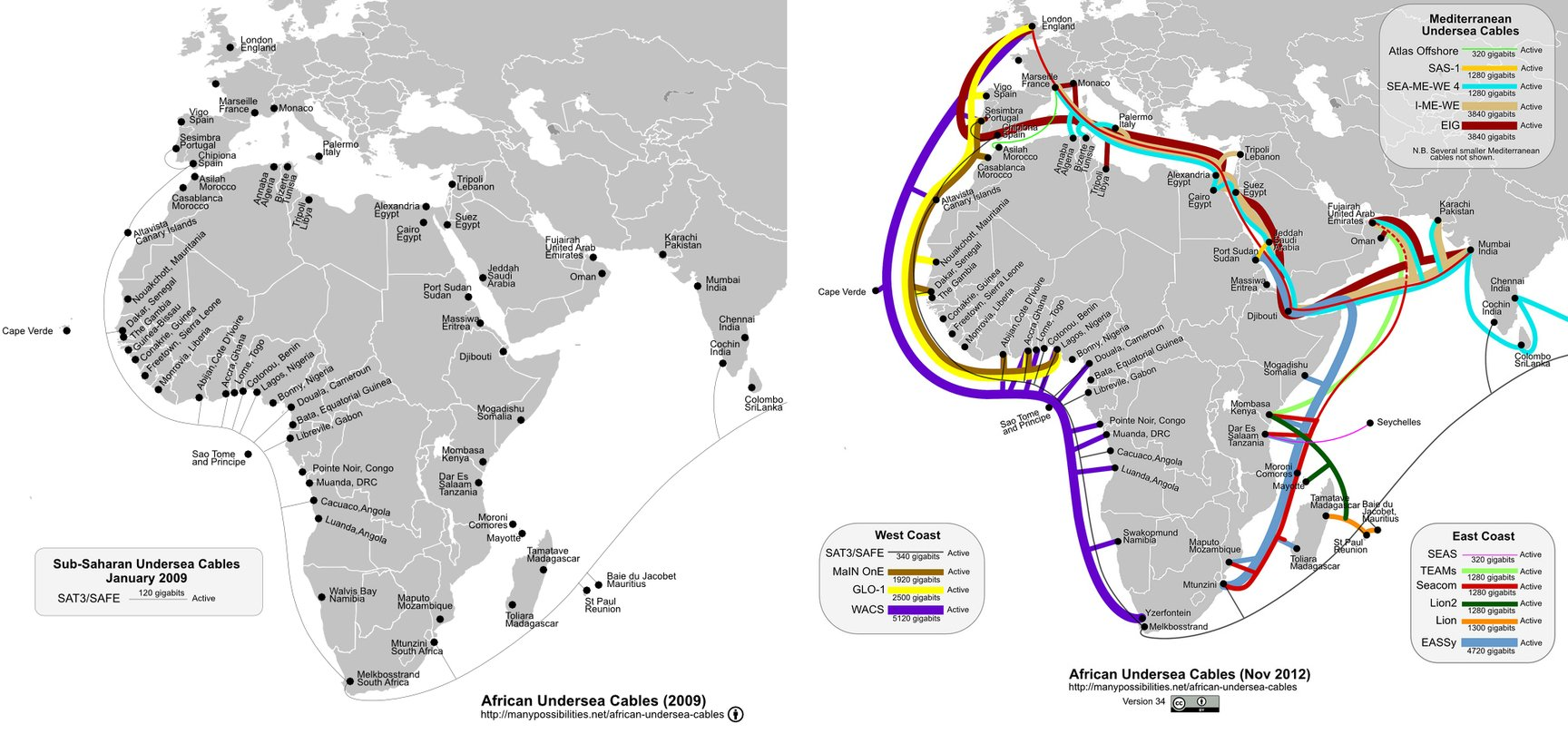 Connecting 21st-century Africa takes more than just railways and roads. Steve Song, CC BY-NC-SA Click to enlarge