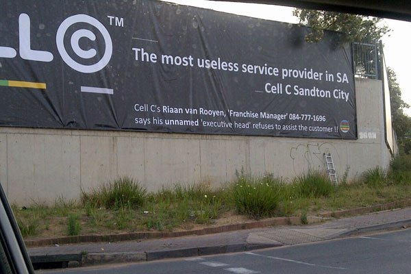Cell C banner