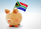 South Africa piggy bank money