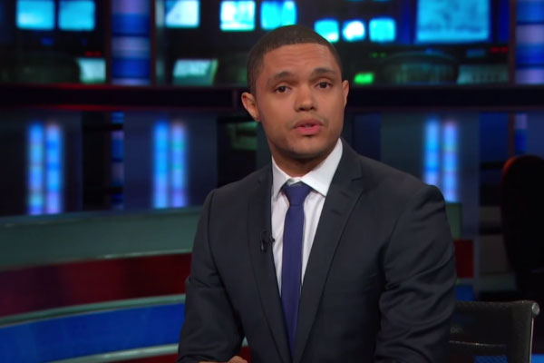 Watch: Trevor Noah takes on 'fascist' Donald Trump