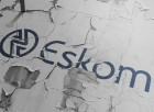 Eskom logo on wall
