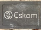 Eskom logo power box