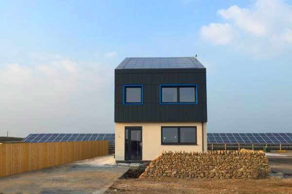 This house produces more energy than it uses