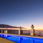 Casablanca Mansion Firepool and view