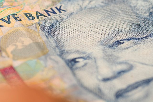 Rand breaks through to under R13 vs the dollar