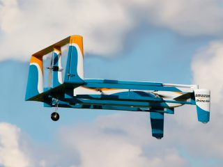 Watch: Amazon makes its first drone delivery