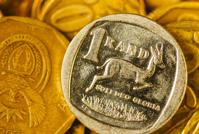 This is the 'real' value of the rand against the dollar