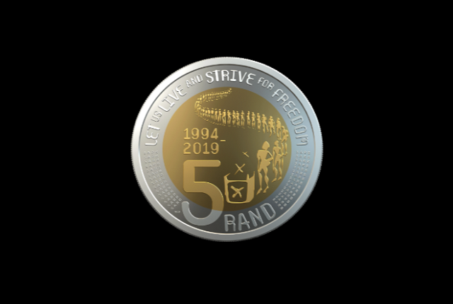 A first look at South Africa's new R2 and R5 coins