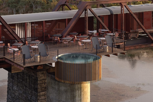 A look at the Kruger Park's new luxury 'train lodge' opening in December