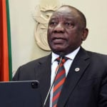 Cyril Ramaphosa South African President