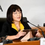 Patricia De Lille South African Minister of public works and infrastructure