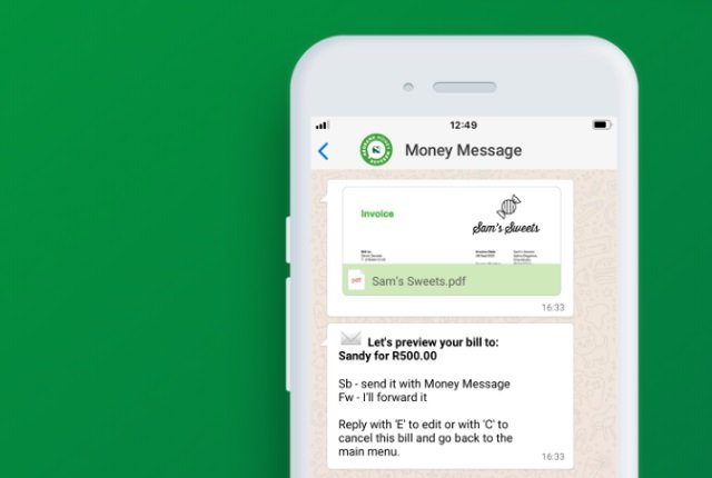 Nedbank's new money service lets customers pay through WhatsApp - BusinessTech