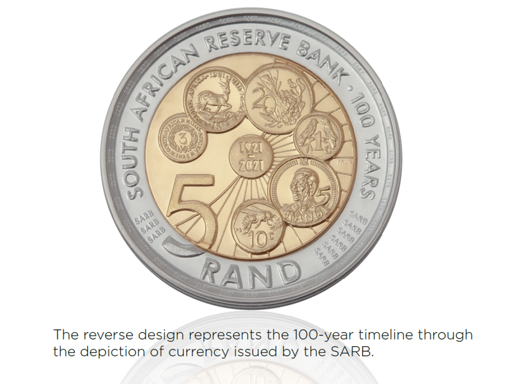 A look at South Africa's new R5 coin launching this week